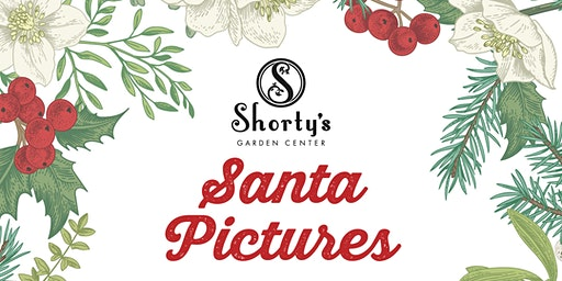 Photos with Santa  and Mrs. Claus at Shorty's