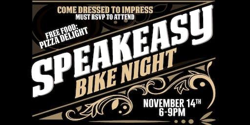 Speakeasy Bike Night