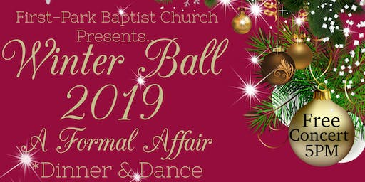 Our First Winter Ball, Let's celebrate Life together!