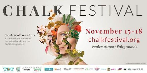 Chalk Festival 'Garden of Wonders' NOV. 15-18
