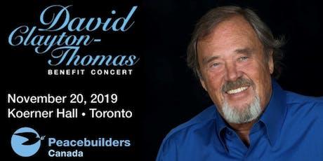 David Clayton-Thomas Benefit Concert tickets