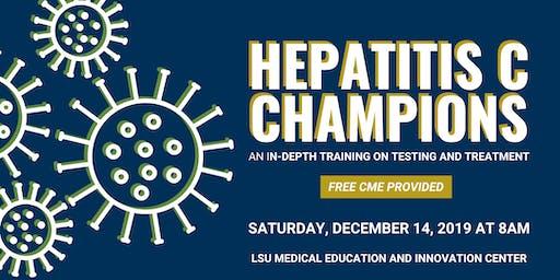 Hepatitis C Champions Training Baton Rouge