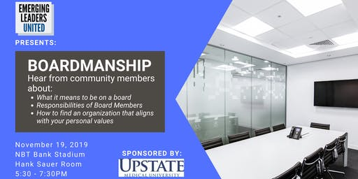 Emerging Leaders United Presents: Boardmanship