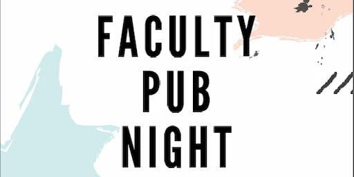 Faculty Pub Night