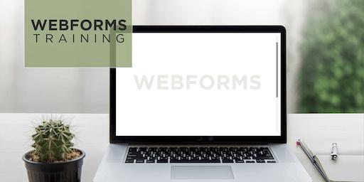 Webform Training 2019
