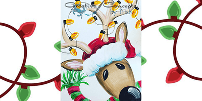 Reindeer Slate or Canvas Paint Night!