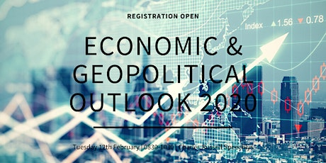 Economic & Geopolitical Outlook 2020 tickets