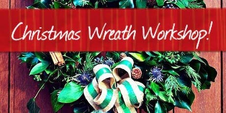 Eco Christmas wreath making - Children 8-16 tickets