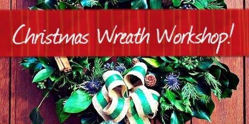 Eco Christmas wreath making - Children 8-16