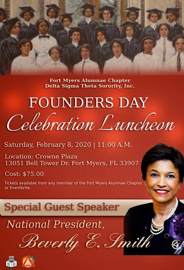 Founders Day Celebration Luncheon 8 Feb 2020