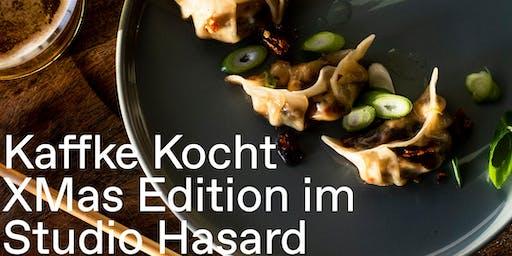 XMAS Dinner im Studio Hasard