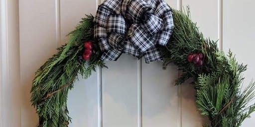Holiday Fresh Wreath Making Workshop