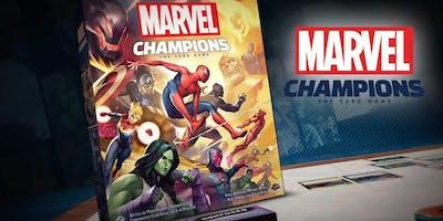 Découverte du jeu - Marvel Champions - Jeudi 21 novembre - 21h