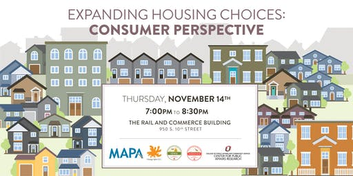 Expanding Housing Choices: Consumer Perspective