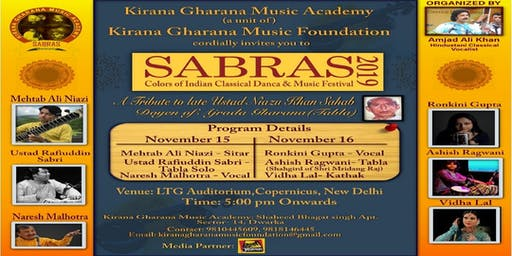 SABRAS Music and Dance Festival 2019