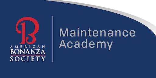Maintenance Academy Application Spring 2020