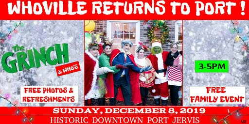 WHOVILLE RETURNS TO PORT