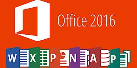 Microsoft PowerPoint 2016 Intermediate _ONLINE COURSE tickets