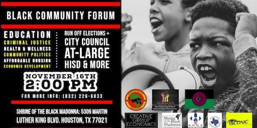 Black Community Forum