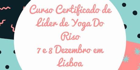 Curso Certificado de Líder de Yoga do Riso Lisboa bilhetes