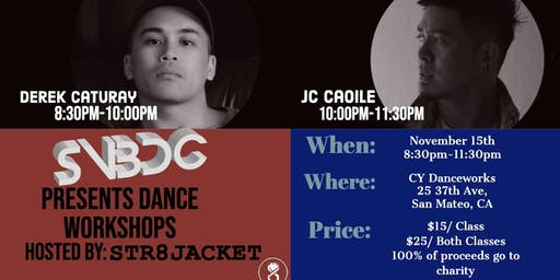 SVBDC Dance Workshops with Str8jacket