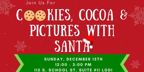 Desire Vasquez 2nd Annual Cookies, Cocoa & Pictures With Santa Event
