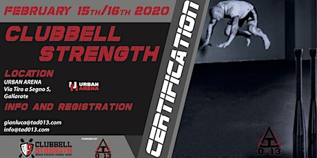 Clubbell Strength Certification biglietti