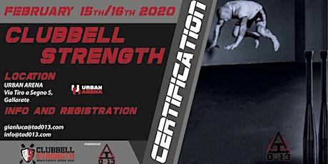 Clubbell Strength Certification biglietti