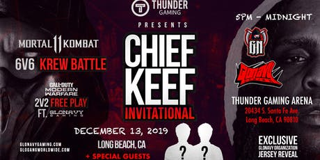 Bang Celebrity Gaming Tournament Hosted by Chief Keef and Thunder Gaming tickets