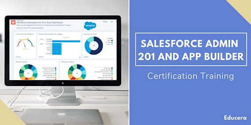 Salesforce Admin 201 and App Builder Certification Training in  York Factory, MB