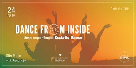 Dance From Inside: Uma experiência Ecstatic Dance  ingressos