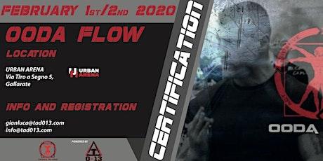 OODA FLOW - Certification biglietti