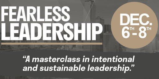 Fearless Leadership Masterclass