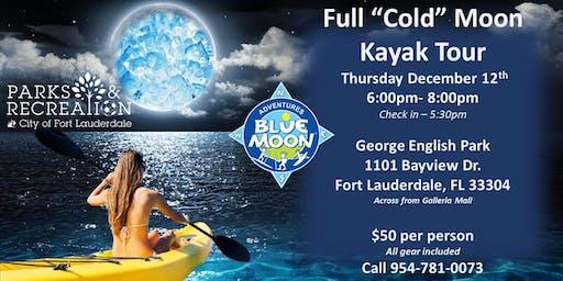 "Full ""Cold"" Moon Kayak & SUP Tour"