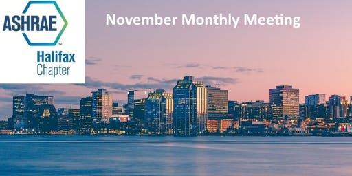 ASHRAE Halifax November Monthly Meeting