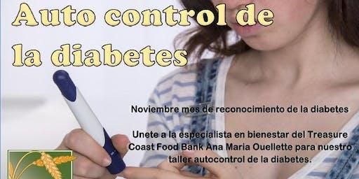 Auto control de la diabetes - 22 de noviembre de 2019