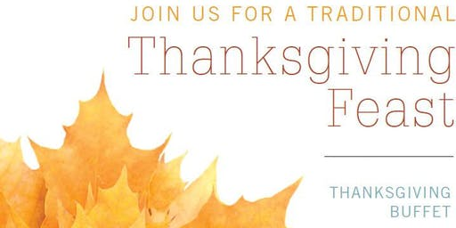 Join us for a Thanksgiving Buffet | Bristol Seafood Grill