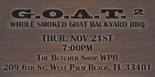 GOAT Squared Backyard BBQ Collab Dinner | Emerson Frisbie & Jimmy Strine