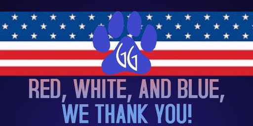 RED, WHITE, AND BLUE, WE THANK YOU!