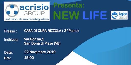 Presentazione ACRISIO Group progetto NEWLIFE di MUTUA AGLEA SALUS - Venezia
