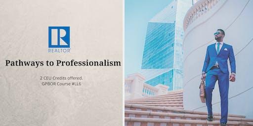 Pathways to Professionalism 12/11
