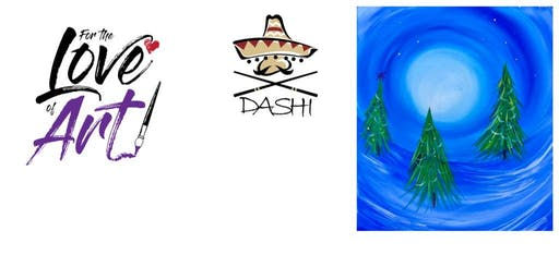 For the Love of Art Mobile Paint Party at Dashi Restaurant of N. Charleston