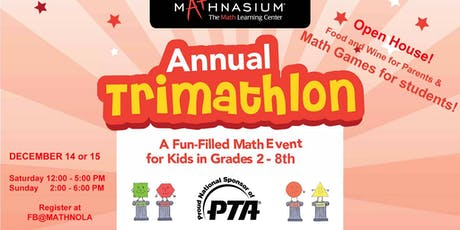 TriMathlon and Open House tickets