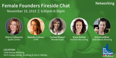 Female Founders Fireside Chat tickets