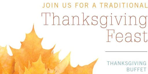 Join us for a Thanksgiving Buffet - $42 | Bristol Seafood + Steak + Social
