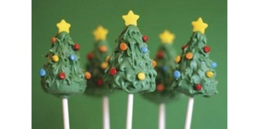 Christmas Cake Pops!  (12-11-2019 starts at 2:00 PM)