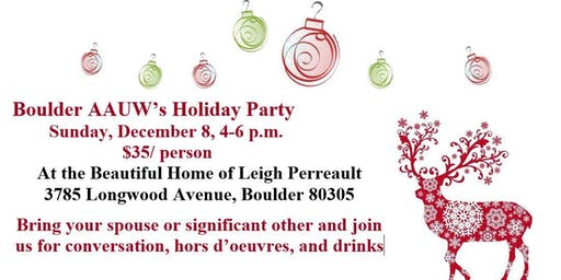 Boulder AAUW's Holiday Party