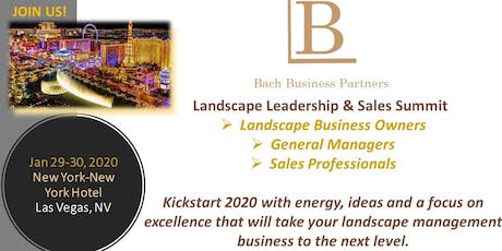 BBP Landscape Leadership & Sales Summit tickets