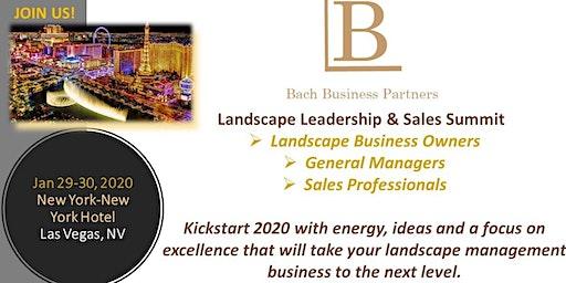 BBP Landscape Leadership & Sales Summit
