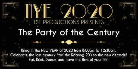 NYE - CLUB 2020 - The Party of the Century! tickets